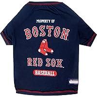 PETS *一 MLB 宠物服饰 .–*棒球球衣 T 恤 dugout 夹克迷彩球衣连帽 T 恤 ' s & 粉红色球衣带狗和猫有29MLB teams & 6尺寸。