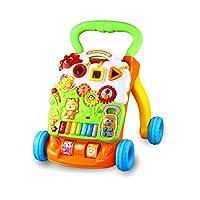 优乐恩婴儿学步车宝宝平衡手推车 1-3岁儿童防侧翻音乐多功能学走路调速助步车玩具防滑春节新年礼物