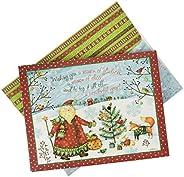 Lang Santa 礼品盒装圣诞卡 (1004835)