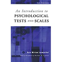 An Introduction to Psychological Tests and Scales (English Edition)
