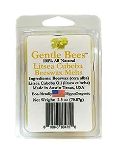 Gentle Bees Litsea Cubeba Beeswax Melt