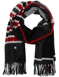 Marc O'Polo 男士围巾 730839002112,黑色(黑色 990),均码