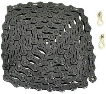 YBN 11 速链 120 链带电源锁 适用于Shimano Sram Campagnolo,黑色,ST1753