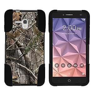 Alcatel Fierce XL 手机壳,手机壳全机身融合 STRIKE 冲击支架手机壳带*插图 MINITURTLE 出品4326189852 Tree Bark Hunter Camouflage