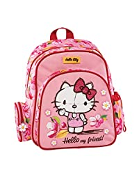 Graffiti Hello Kitty 学生背包,30 厘米