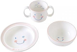 Hoppetta 微笑图案陶瓷餐具套装