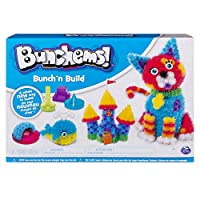 Bunchems Bunch'n Build Activity Kit 4 塑形模具和 400 适合年龄 6 岁及以上