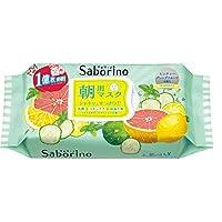 SaborinoBCL早安懒人面膜60秒醒肤 清凉款32片/盒 (日本品牌)