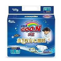 GOO.N 大王 环贴式纸尿裤 甜睡系列 L30片(适合9-14kg )