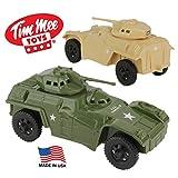 Tim Mee 侦察巡逻装甲汽车 - 塑料*男士军车辆 美国制造