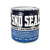 Atsko Sno-Seal Original Beeswax 防水皮革保护套,7 盎司