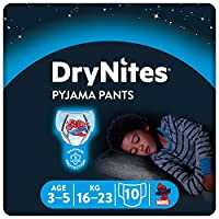 Huggies DryNites 男童睡裤,3-5 岁