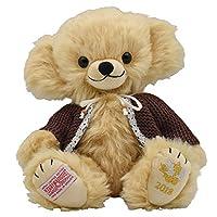 【Amazon.co.jp限定】毛绒玩具 泰迪熊 Merrythought 琪琪花朵收藏2018 棕色 G5818306