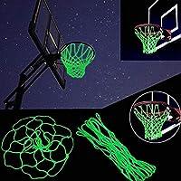 Springen 夜光户外篮球网尼龙发光篮球框边缘网四季厚实替换标准尺寸网圈圈圈加厚