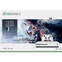 Microsoft 微軟 Xbox One S 1TB 游戲主機 +《星球大戰絕地:隕落的武士團》(Star Wars Jedi: Fallen Order )同捆套裝