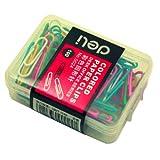 Deli 得力 0024-彩色回形针(多色混合装) 10盒装大包装
