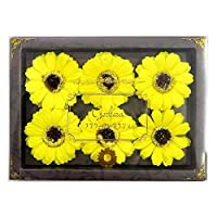 九州花朵服务 花卉假泡澡剂 栀子花香 6轮装 YE 753770