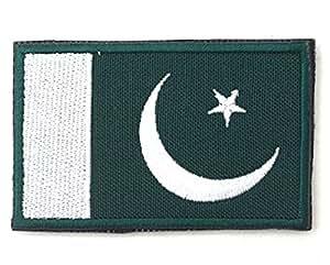 每个乡村国旗绣花 3''X2'' Pakistan