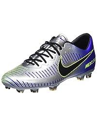 Nike Unisex Kids' JR Mercurial Vapor XI Njr FG Football Boots, Blue (Racer Blue/Black-Chrome-Volt 407), 4.5UK Child