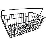 P4B 篮子 - 后轮 - 学校 - 宽网眼 - 黑色(零件 4 个自行车),均码