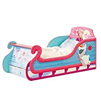 Disney 《冰雪奇缘 SLEIGH 儿童幼儿床带 underbed 存储来自 hellohome