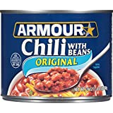 Armour Chili with Beans(12 件装) 24 Ounce (Pack of 12)