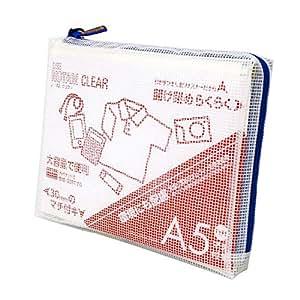 Notam 网状壳 带内衬 透明 A5 蓝色 UNCM-A5#36