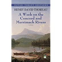 A Week on the Concord and Merrimack Rivers (Dover Thrift Editions) (English Edition)