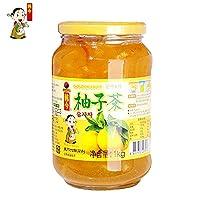 韩今(韩国) 蜂蜜柚子茶(蜂蜜柚子果肉饮料)(韩国进口)(亚马逊自营商品, 由供应商配送)