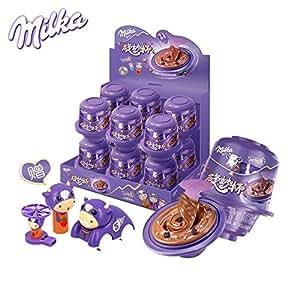 Milka 妙卡 旋妙杯含奥利奥饼干碎及脆谷粒可可酱糖果大礼盒(12盒装)(特卖)