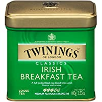 Twinings 川宁 Of London 爱尔兰早餐散装茶 罐装 3.53盎司(约100.07克)(6件装)