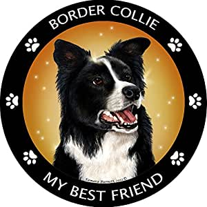 Choose Your Dog Breed Best Friend Circle 汽车卡车冰箱磁铁 Border Collie Magnet 均码 unknown