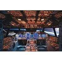 教育 ' 航天飞机驾驶舱 Columbia ' 海报, EXTRA 配件
