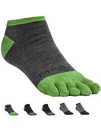 FUN TOES 男式袜子轻透气超值 6 双装 - 尺码 6-12