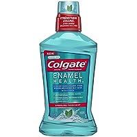 Colgate 高露洁 Enamel Health Mouthwash, Fresh Mint - 1L, 33.8 fluid ounce