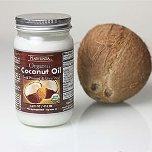 冷榨椰子油,美国原瓶进口,野生小椰子冷榨414ml*6瓶/箱