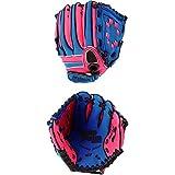 UNIX 青少年・儿童 棒球用图标(小学低学年)蓝色×粉色 BG80-20