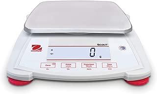 OHAUS 30253023 型号 SPX2202 Scout Balance,2200 克 容量 x 0.01 克 可读性