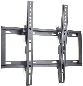 Sunydeal 电视壁挂式支架,倾斜支架适用于大多数 17-55 英寸 LED、LCD 和等离子电视,*高可达达 400 x 400mm 和 110 磅的载荷能力