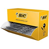 BIC Cristal V2凝胶 - 圆珠笔, 0.7毫米尖头, 0.5毫米线宽, 黑色, 40件 黑色