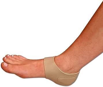 Beautyko USA 3 双装女士用缓解脚跟痛的脚底*支撑垫,肉色