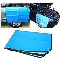 Jecr 磁性汽车挡泥板套 - 机械工汽车和卡车工作垫保护罩 - 油漆保护挡泥板翼套 - 重型优质 81.28 cm x 60.96 cm 垫子