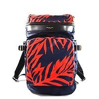 Michael Kors 迈克高仕 Kent 背包,适用于上学、办公室、运动旅行,靛蓝 红色