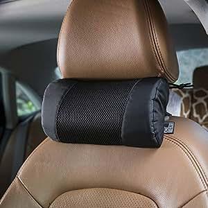 OneTigris 汽车颈枕,*泡沫肩垫,汽车*带 黑色 均码
