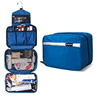 化妆袋化妆包旅行商务手提包防水紧凑悬挂个人护理卫生钱包