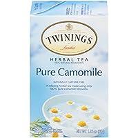Twinings川宁果味茶包 香宁洋甘菊花茶(1.5g*20)30g (新老包装更换中)(英国进口)