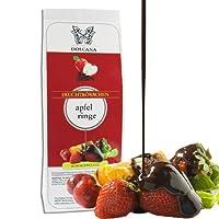 Dolcana Schokofrüchte - Apfelringe in weißer Schokolade, 1er Pack (1 x 150 g Packung)