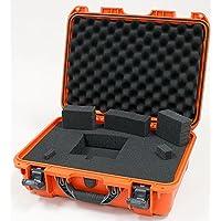 Nanuk 925 Case with Cubed Foam (Orange)