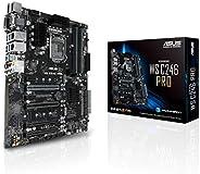 ASUS 华硕 LGA1151 ECC DDR4 M.2 C246 服务器工作站 ATX 主板 适用于* 8 代 Intel 主板 WS C246 PRO
