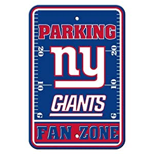 Fremont Die NFL New York Giants 塑料停车标志